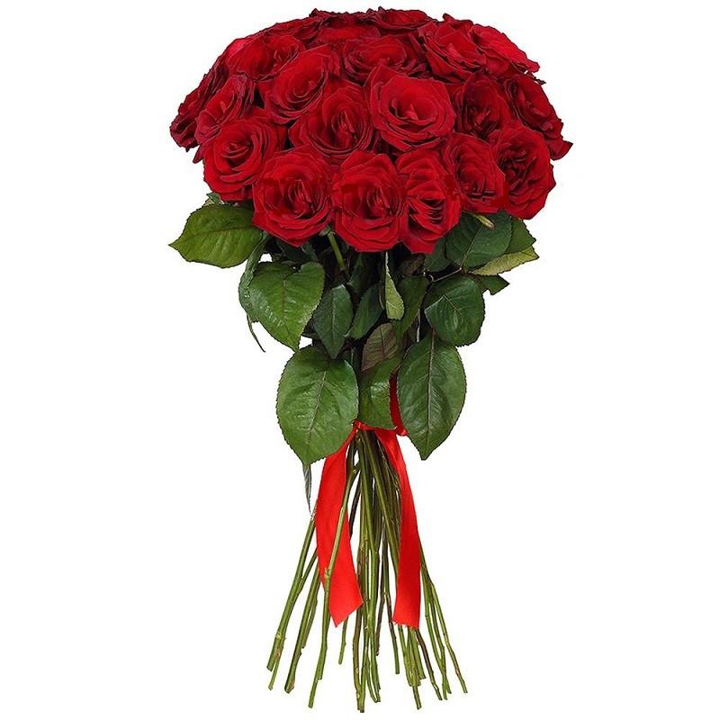 12 rose rosse - Consegna bouquet di rose a Milano